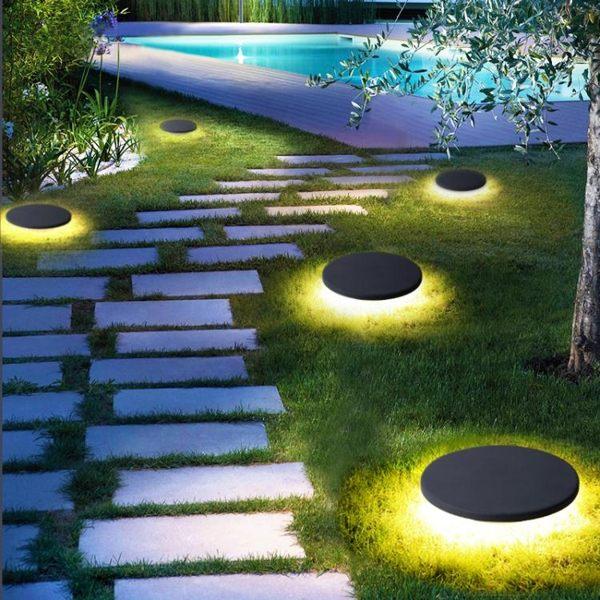 草坪燈太陽能戶外防水庭院燈 cf