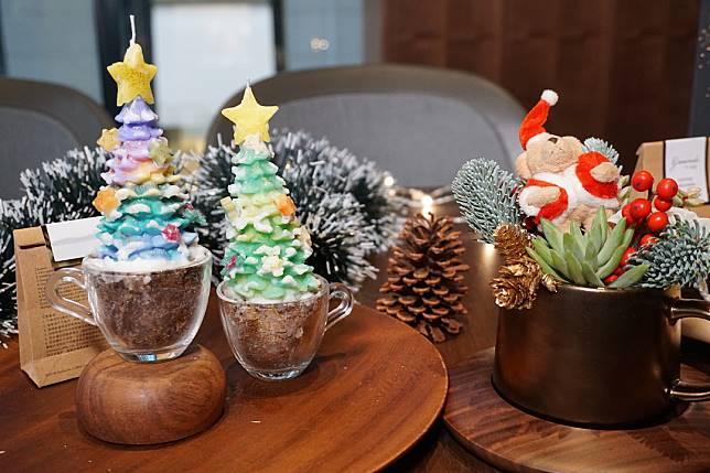 Starbucks將於12月首兩個周末舉辦花藝咖啡渣盆栽及聖誕樹咖啡渣蠟燭工作坊。