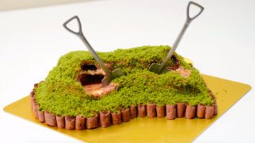奈良「古墳蛋糕」日本推特爆紅 拿出來超有魄力!