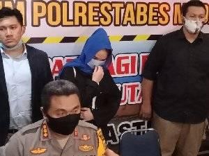 Hana Hanifah Cewek Bertarif 20 Juta Dilepas Polisi