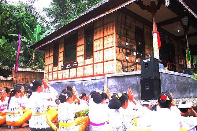Soft launching Museum Sanghyang Dedari Giri Amertha, untuk melestarikan seni tari Sanghyang Dedari Giri Amertha. TEMPO/Ludhy Cahyana