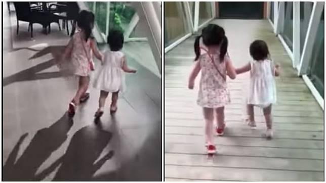 馬來西亞日前發生1名不到2歲的女童從空橋墜下身亡。(圖/翻攝自臉書)