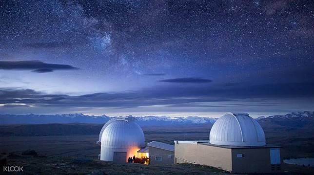 (圖10)紐西蘭基督城的約翰山天文台光污染低,氣候乾燥,一年四季都適合觀星