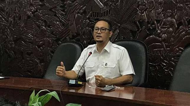Direktur Jenderal Aplikasi Teknologi Informatika Semuel Abrijani Pangerapan  [suara.com/Maidian Reviani]