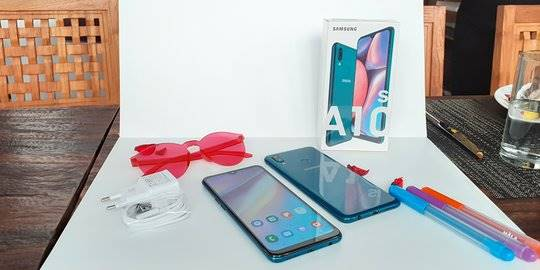 Samsung Galaxy A10s. ©2019 Merdeka.com