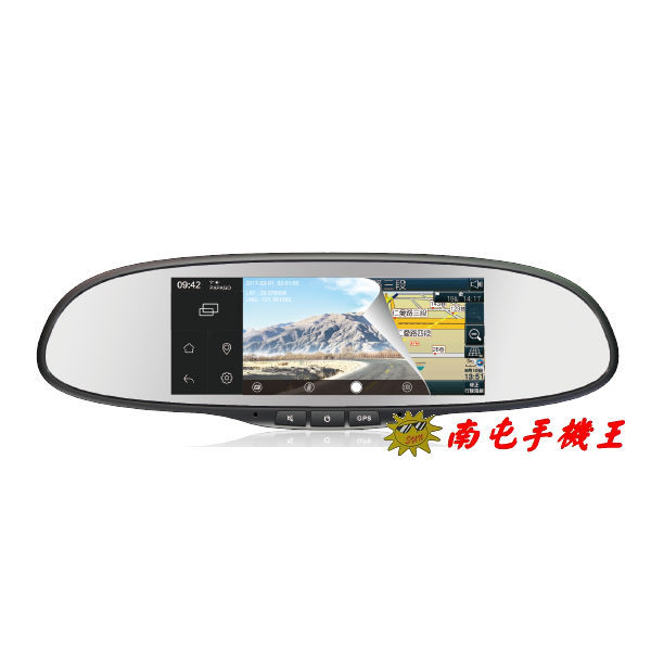 *行車記錄+聲控導航 雙模式 *導航助理功能 *即時路況顯示