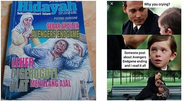 10 Meme lucu spoiler Avengers: Endgame ini bikin ngakak