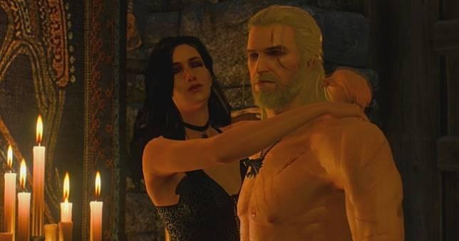 編劇尷尬《巫師3》性愛色文要被公審🔞,還得看禿頭傑洛特與禿頭葉奈法打情罵俏