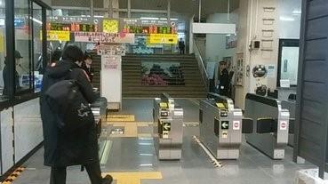 JR西日本在山陰地區引入自動票閘機,市民大感好奇