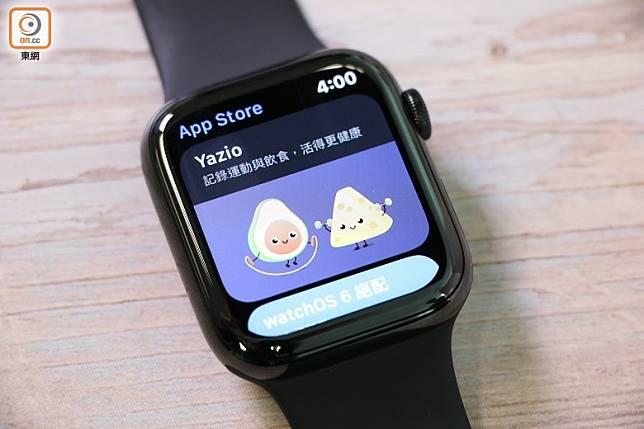 預載獨立App Store,不經手機也能裝App。(莫文俊攝)