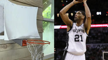 NBA失傳絕學「擦板球」重現江湖?這塊籃板讓你想投不進都難!