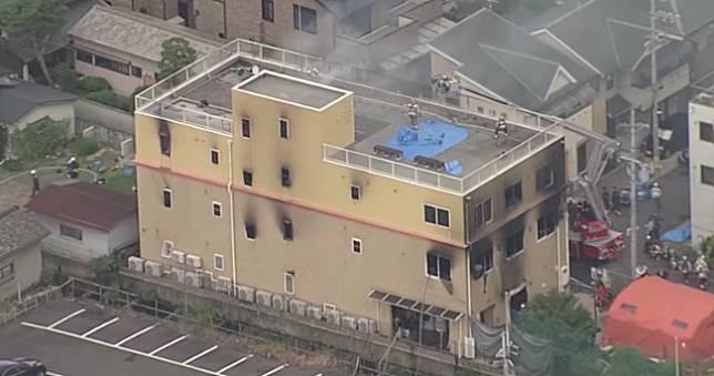 慟!京都動畫遭縱火33死36傷,日本消防廳確認