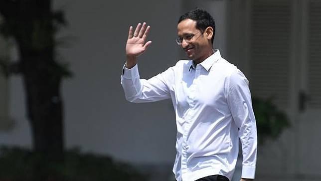 Pendiri dan CEO Gojek Nadiem Makarim datang memenuhi panggilan Presiden Jokowi untuk Jadi Menteri