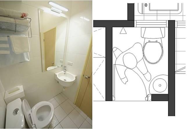 5. 小而美的半坪衛浴間