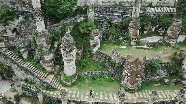 ช่างปั้นจีนทุ่มเท 20 ปี รังสรรค์ 'ปราสาทหินสุดพิศวง' ส่งต่อประวัติศาสตร์