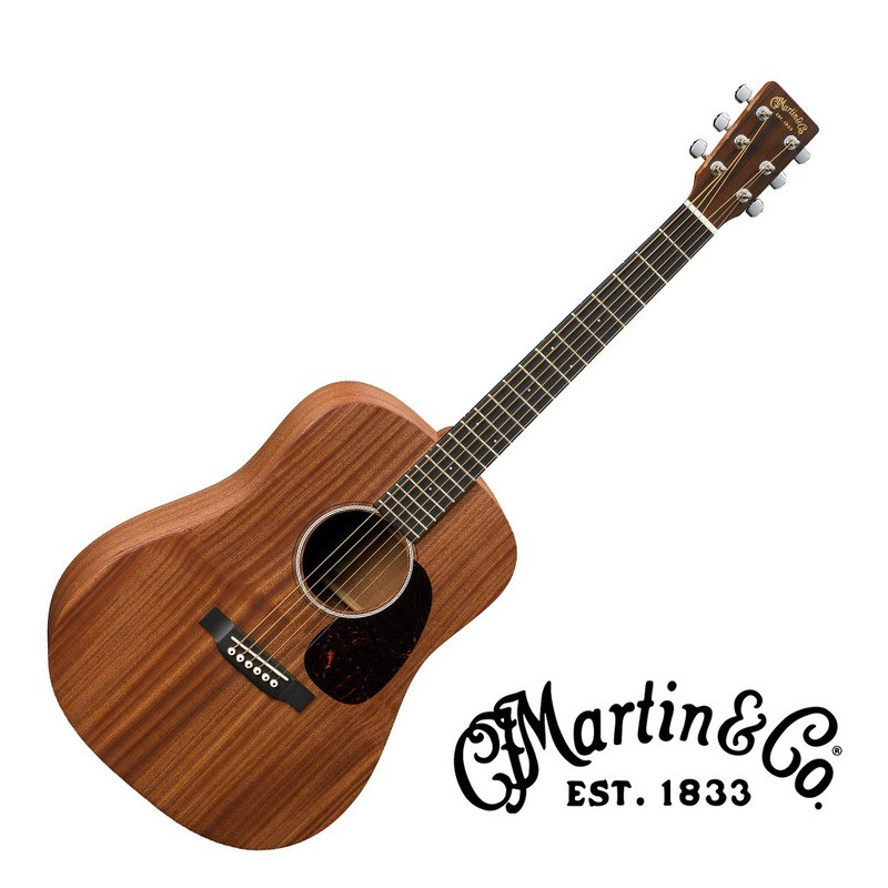 Martin DJR2E 旅行吉他38吋 EQ 全單板 沙比利木 Sapele 小吉他 民謠吉他 - 【黃石樂器】