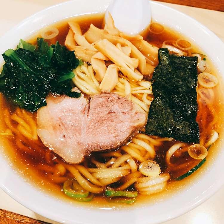 新宿区周辺で多くのユーザーに人気が高い醤油ラーメンらぁめん ほりうちのらぁめんの写真