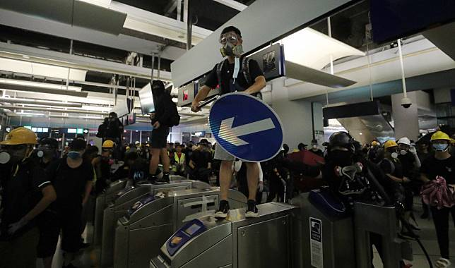 Hong Kong's MTR pays the price for aiding and abetting protesters