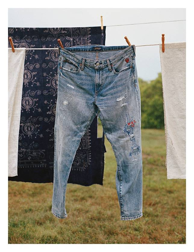 Ralph Lauren為致力縫製可持續發展的牛仔服飾,特別展開「Design the Change」革新策略。 (互聯網)