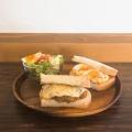 日替わりサンドイッチ - 実際訪問したユーザーが直接撮影して投稿した柿沼カフェヒキカフェの写真のメニュー情報