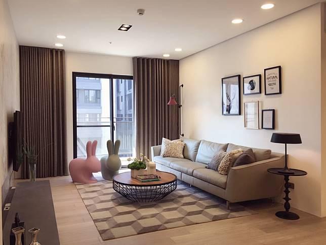 客廳區設計