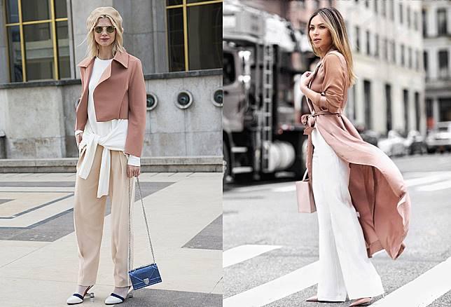 6 Inspirasi Fashion Tertutup Serba Dusty Pink Buat Outfit Bukber