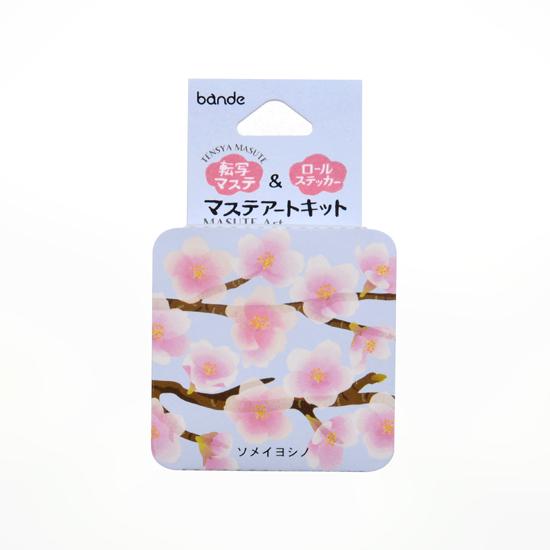 染井吉野櫻貼紙紙膠包裝