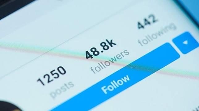 Ilustrasi followers di Instagram. [Shutterstock]