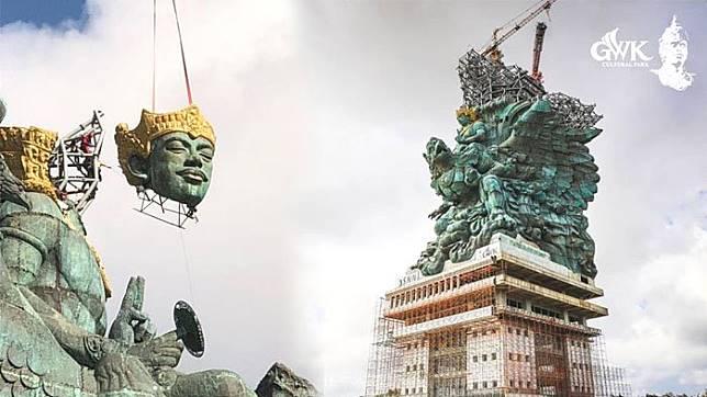 16 Fakta Menarik Tentang Patung Garuda Wisnu Kencana (GWK), Berat Kulit Patung Capai 900 Ton