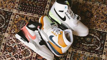 新聞分享 / 每個顏色都代表一段傳奇 Jordan Legacy 312