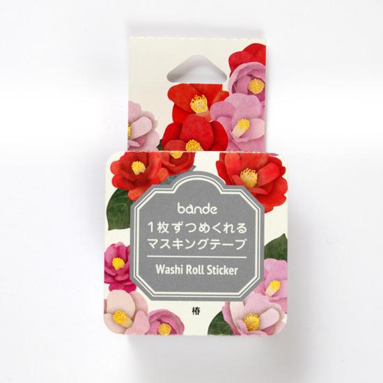 椿花貼紙紙膠包裝