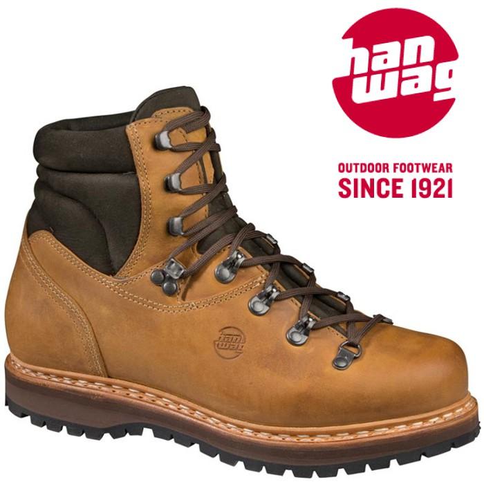 Hanwag 登山鞋/皮靴/健行鞋/高筒皮革/黃金大底 Bergler 男款 1114 44 沙漠色 台北山水 品名:Hanwag Bergler 男款登山皮靴 重量:約1550克 (UK 8) 鞋面