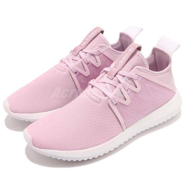 adidas 休閒鞋 Tubular Viral2 W 粉紅 白 運動鞋 女鞋 基本款【PUMP306】 CQ3011