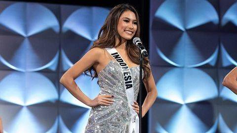 Kata Frederika Alexis soal Insiden Terpeleset di Panggung Miss Universe