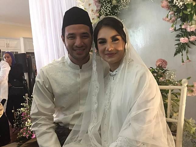 Ammar Zoni dan Irish Bella saat ditemui Grid.ID di kawasan Cinere, Depok, Jawa Barat, Kamis (25/4/2019).