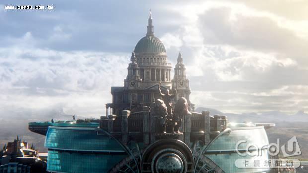龐大的「倫敦城」大城市追逐小城鎮,刺激度不輸一般動作片,導演將電影拍得很「浩瀚」(圖/UIP 提供)