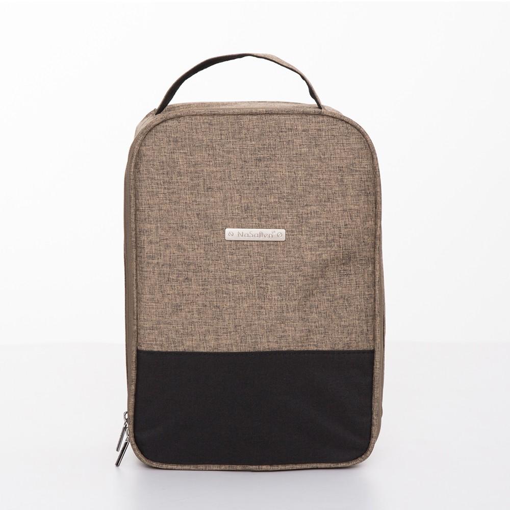 NaSaDen 鞋袋-高跟鞋/鞋類專用收納袋(咖啡棕)