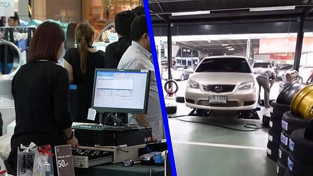 """โพล ชี้ ประชาชน 59 % สนใจซื้อยางรถ """"ช็อป ช่วย ชาติ"""""""
