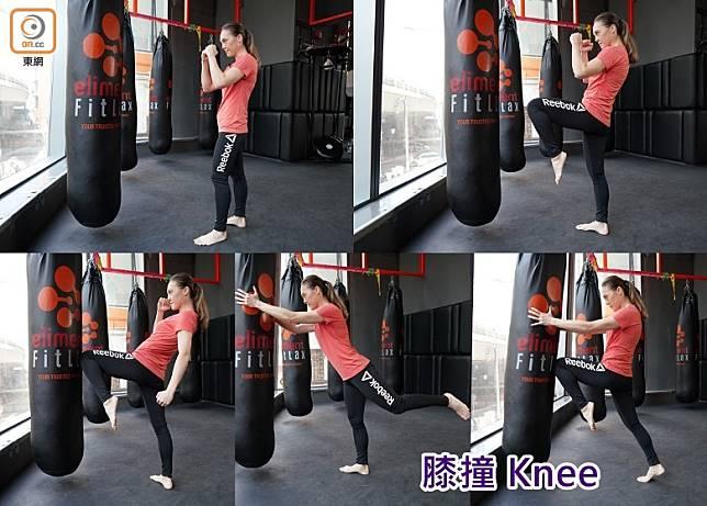 膝撞 Knee(張群生攝)