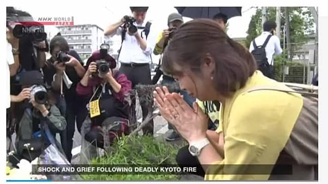แฟนอนิเมะทั่วโลก ติดแฮชแท็ก #prayforkyoani ไว้อาลัยผู้เสียชีวิต ไฟไหม้สตูดิโออนิเมะ