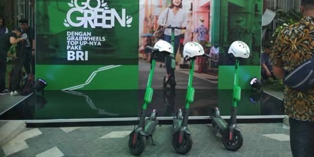 Grabwheels diluncurkan di Indonesia. ©2019 Merdeka.com/Winda Ayu Lestari/Magang