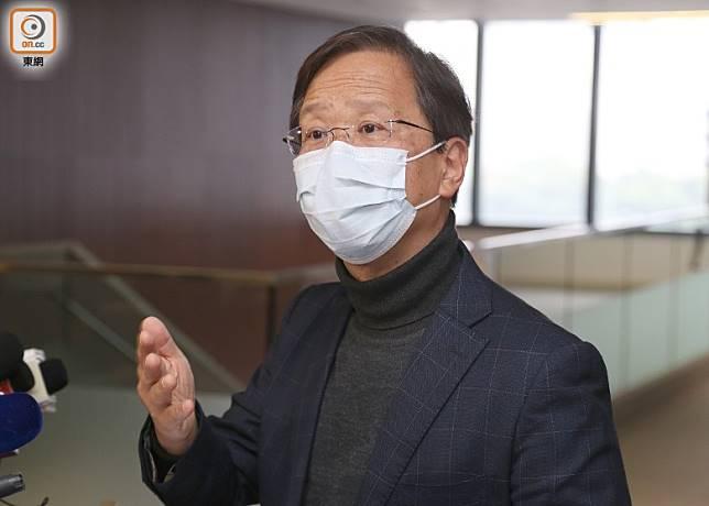 郭家麒認為政府長遠需訂立註冊制度,收緊消毒和防疫產品的銷售規管。