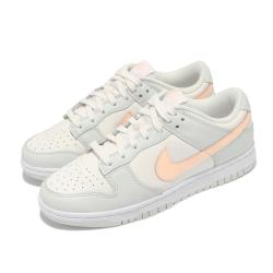 Nike 休閒鞋 Dunk Low 經典款 運動 女鞋 Barely Green 滑板 穿搭 淺綠 粉橘 DD1503-104 [ACS 跨運動]