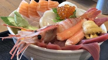 北海道美味早餐5選 滿滿海鮮料的丼飯,是幸福的滋味呀!