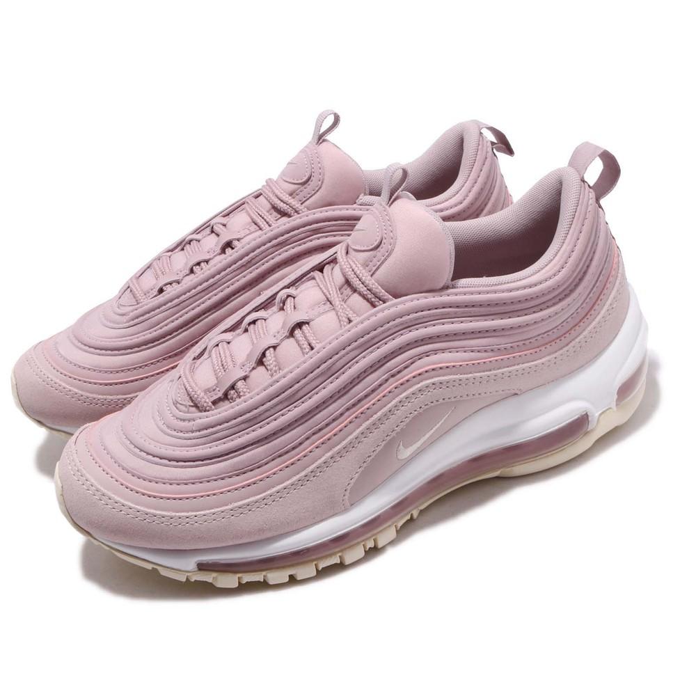 復古休閒鞋品牌:NIKE型號:917646-500品名:Air Max 97 PRM配色:粉色,裸色