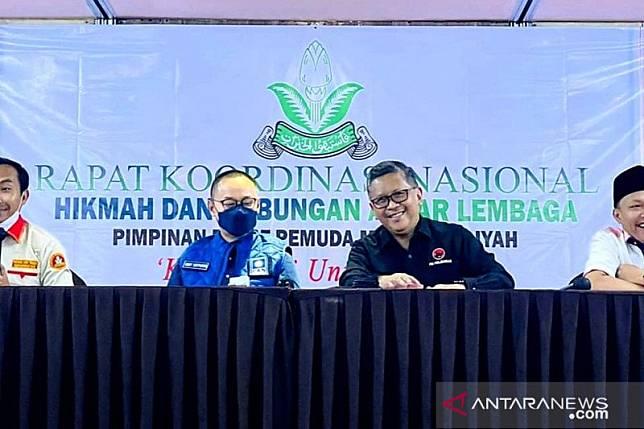 Hasto: Kerja sama PDIP-PAN-Pemuda Muhammadiyah punya landasan historis