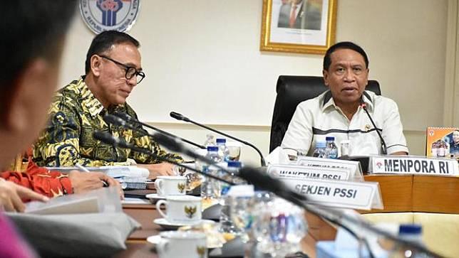 Ketua PSSI dan Kemenpora