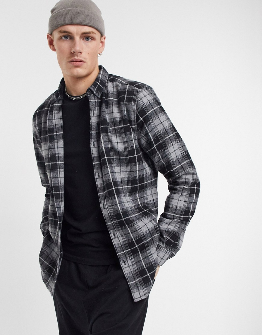 Shirt by River Island Your new favourite shirt Check design Button-down collar Button placket Long s