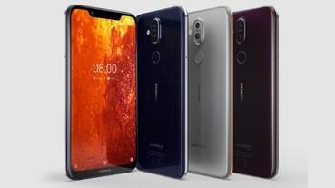 Nokia 8.1 推新色,絳月紅限量登場,買再抽 888 優惠券、吹風機