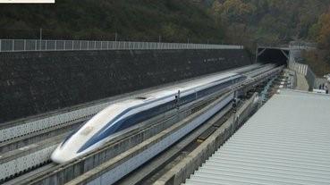 日本590公里磁浮列車創世界紀錄